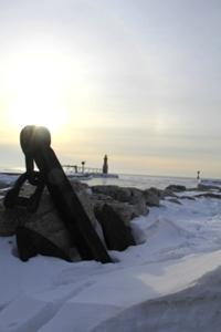 Algoma Wisconsin In Winter