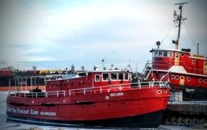 Fire boat test